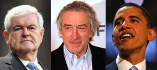 "Newt Gingrich Demands Apology From Robert De Niro Over ""First White Lady"" Joke"