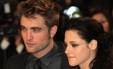 Kristen Stewart and Robert Pattinson: Not Speaking!
