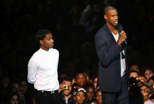 A$AP Rocky and Jason Collins