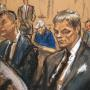 Tom Brady Courtroom Sketch
