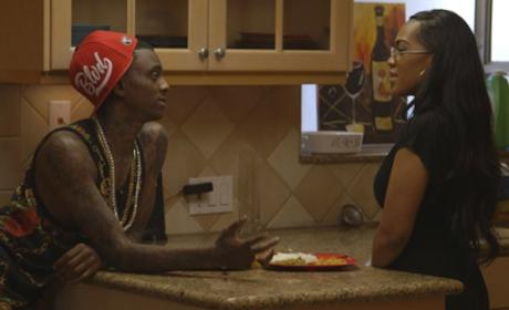 Nia Riley and Soulja Boy Pic