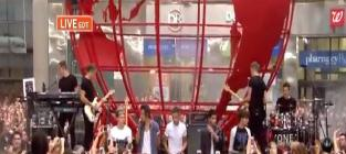 One Direction Performs for Largest Crowd in Today Show History