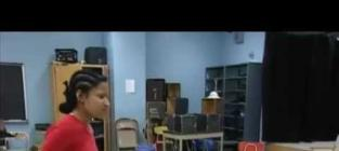 Nicki Minaj in High School