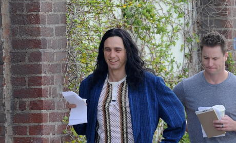 James Franco Films 'The Disaster Artist'