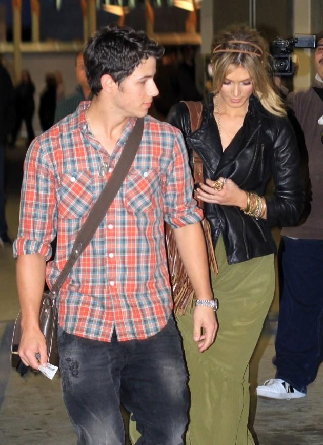 Nick Jonas and Delta Goodrem