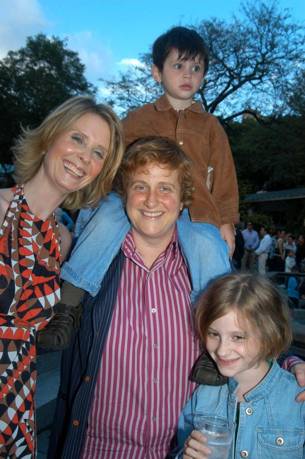 Christine Marinoni and Cynthia Nixon Photo