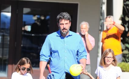 Ben Affleck Goes to Church With Jennifer Garner, Clearly Hates Life