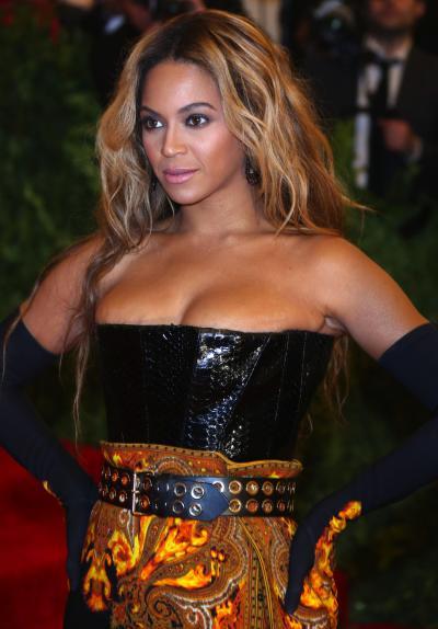 Beyonce at META Gala 2013