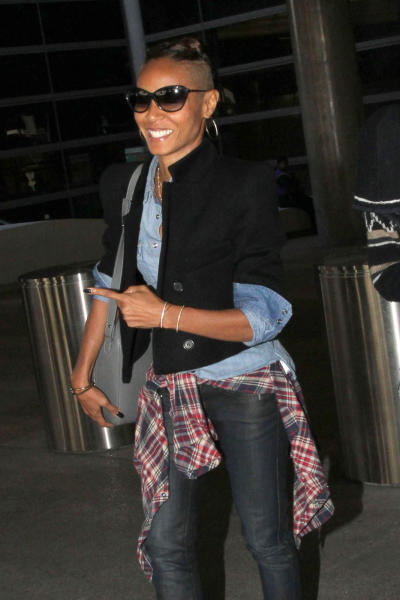 Jada Pinkett Smith Shaved Head