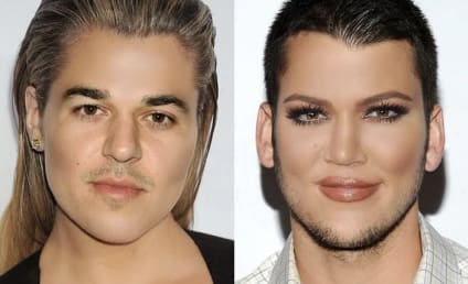 Khloe Kardashian Face Swaps With Rob Kardashian and Kris Jenner and the Results Are CREEPY