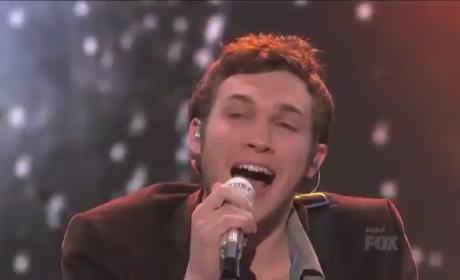 Phillip Phillips: Rainin Down on American Idol!
