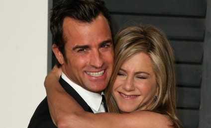 Justin Theroux: PISSED About Brad Pitt's Wedding Gift to Jennifer Aniston?