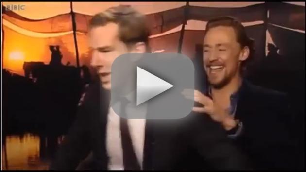 Tom Hiddleston vs. Benedict Cumberbatch: Dance-Off!