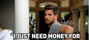 Scott Disick: I Need Money For a Helicopter