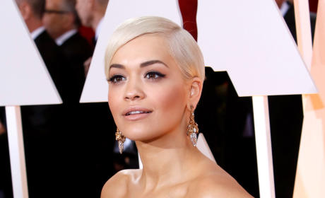 Rita Ora at the 2015 Oscars