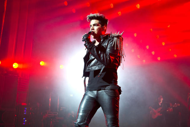 Adam Lambert in London