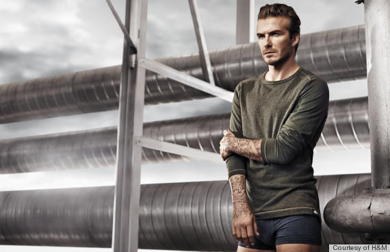 Beckham Underwear Photo