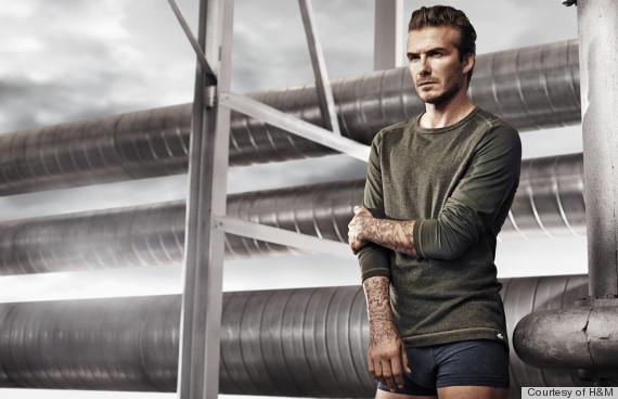Beckham Underwear Photo