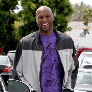 Lamar Odom Leaves Fred Segal