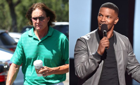 Jamie Foxx and Bruce Jenner