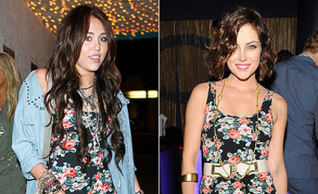 Fashion Face-Off: Miley Cyrus vs. Jessica Stroup