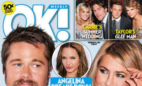 Brad Pitt: I Love Jennifer Aniston (According to OK)!