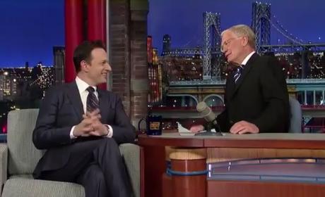 Josh Charles Talks The Good Wife's Shocking Death on David Letterman