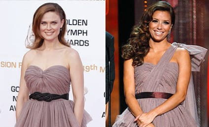 Fashion Face-Off: Emily Deschanel vs. Eva Longoria