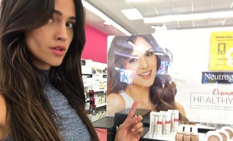 Eiza Gonazalez Neutrogena Ad Drugstore