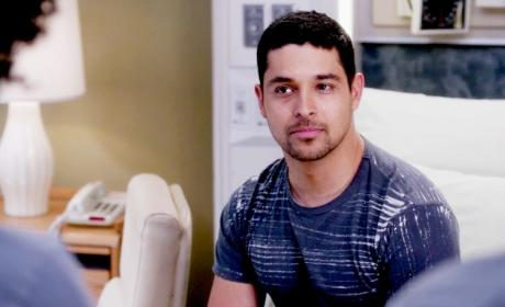 Wilmer Valderrama on Grey's Anatomy