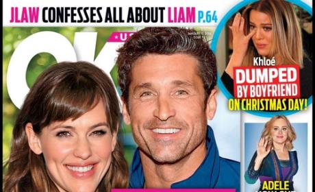 Jennifer Garner & Patrick Dempsey Tabloid Cover