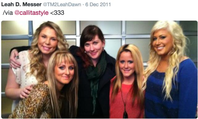 Lea messer kailyn lowry jenelle evans and chelsea houska
