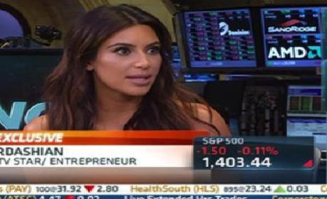 Kim Kardashian on the Economy: Ummm....