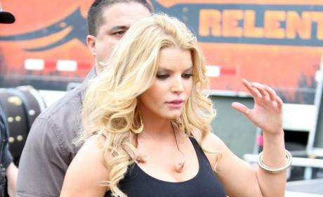 Jessica Simpson Letting Herself Go?