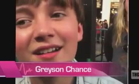 Greyson Chance Speaks to THG