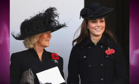 Kate Middleton CAUGHT Twirling Her Hair, Smiling