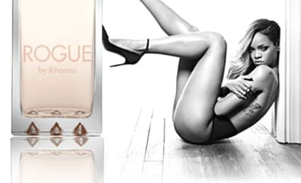 Rihanna: Topless For Rogue Perfume!