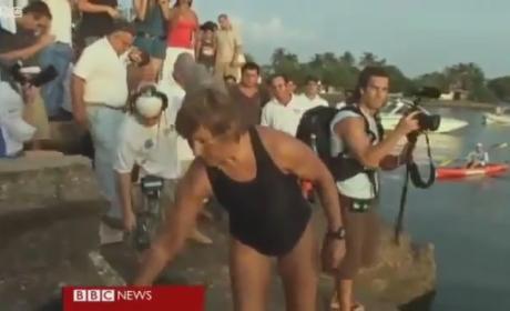 Diana Nyad Ends Bid to Swim Really, Really Far