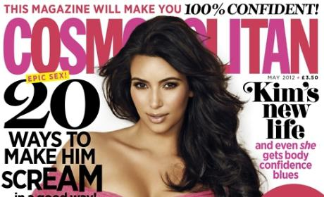 Kim Kardashian Cosmo UK Cover
