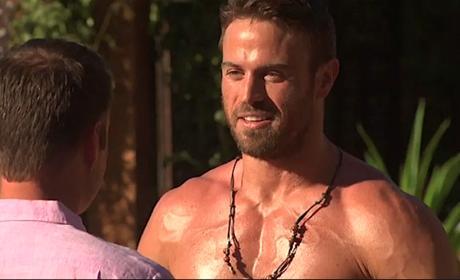 Chad Johnson On The Bachelorette Shirtless