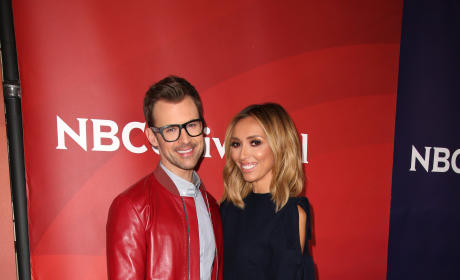 Brad Goreski and Giuliana Rancic: 2016 NBCUniversal Press Tour
