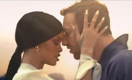 Rihanna and Chris Martin: Date Night?!
