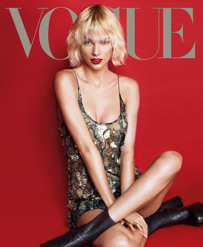 Taylor Swift Vogue Cover Picture
