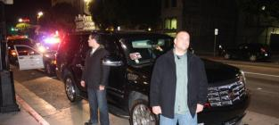 Rihanna's SUV Pulled Over After Leaving Les Deux; No Savage Beatings or Death Threats Reported