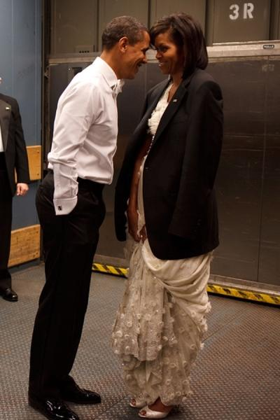 Barack Obama and Michelle Obama Photo