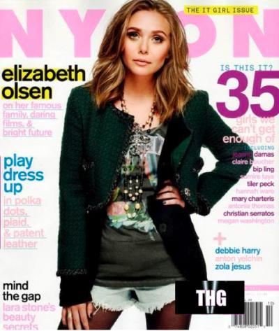 Elizabeth Olsen Nylon Cover