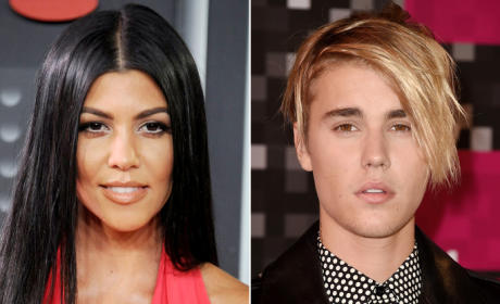 Justin Bieber: Hooking Up with Kourtney Kardashian! Throwing MAJOR Shade at Scott Disick!