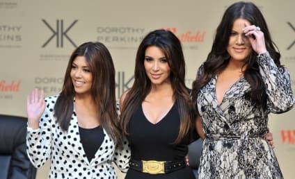 Kardashian Christmas Card: Where's Kanye West?