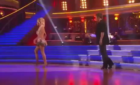 "Pamela Anderson ""Upset"" By Dancing With the Stars Elimination"