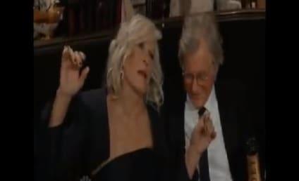Glenn Close: Drunk at the Golden Globe Awards?!?